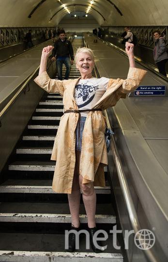 Вивьен Вествуд рассказала, почему вредно часто мыться. Фото Getty