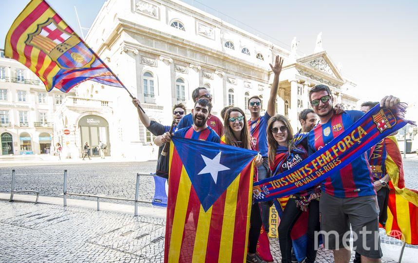 "Болельщики ""Барселоны"". Фото Getty"