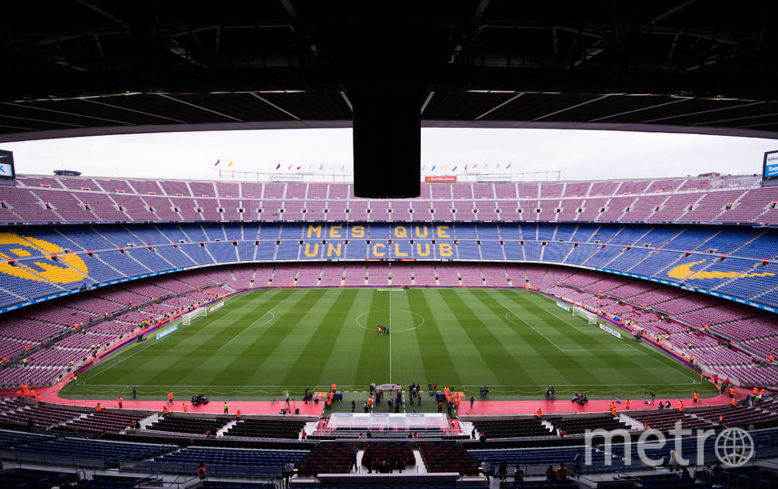 "Стадион ""Камп Ноу"". Фото Getty"