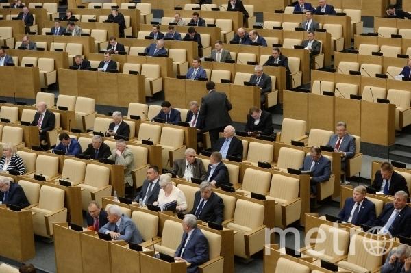 Государственная Дума. Фото РИА Новости