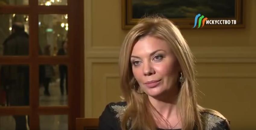 Ирада Вовненко стала замдиректора Юсуповского дворца. Фото Скриншот Youtube