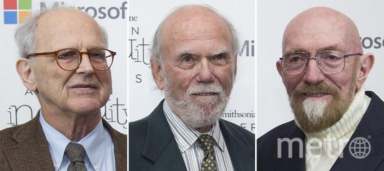 Лауреаты Нобелевской премии по физике 2017. Фото AFP