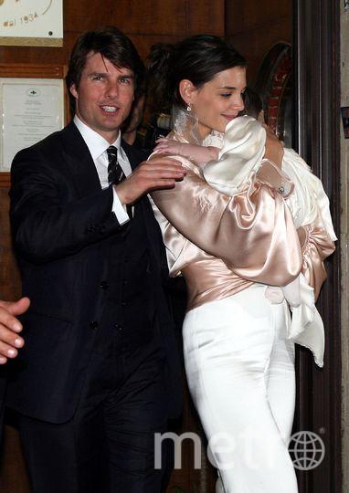 Кэти Холмс и Том Круз на фото выглядели счастливой парой. Фото Getty