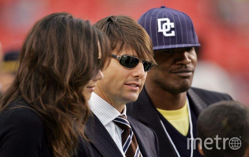 Кэти Холм, Том Круз и Джейми Фокс в 2006 году. Фото Getty