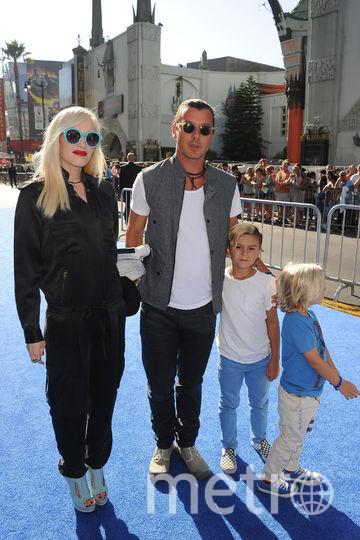 Гвен Стефани и Гэвин Россдейл с детьми. Фото Getty