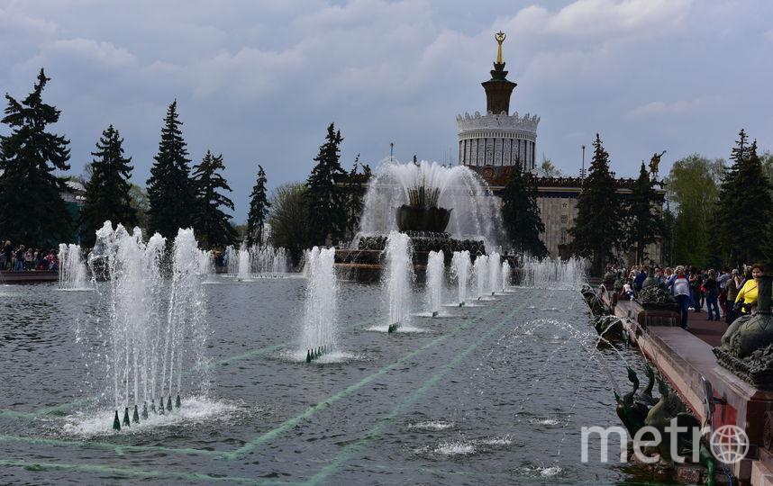 Сезон фонтанов в Москве завершился. Фото Василий Кузьмичёнок