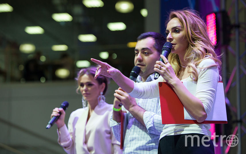 "Екатерина Варнава, Давид Цаллаев, Анна Хилькевич. Фото PR Агентство ""Sarafan""."