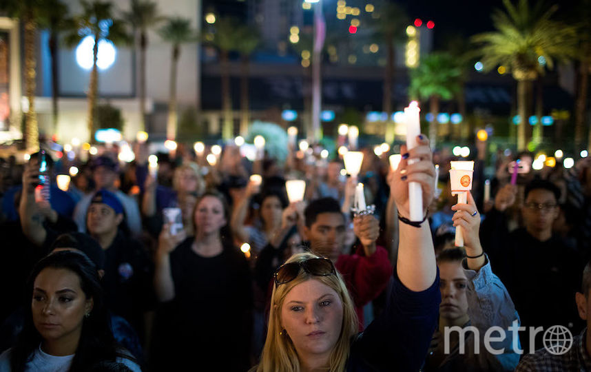 Акции памяти жертв стрельбы. Фото AFP