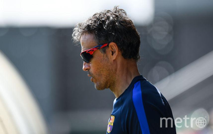 """Бывший главный тренер """"Барселоны"""" Луис Энрике. Фото Getty"""
