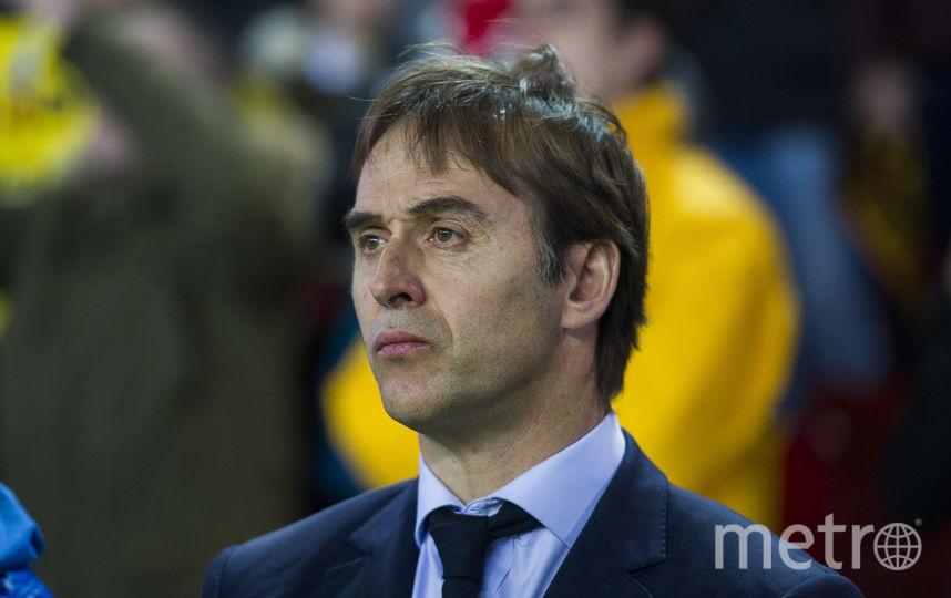 Хулен Лопетеги возглавляет сборную Испании. Фото Getty