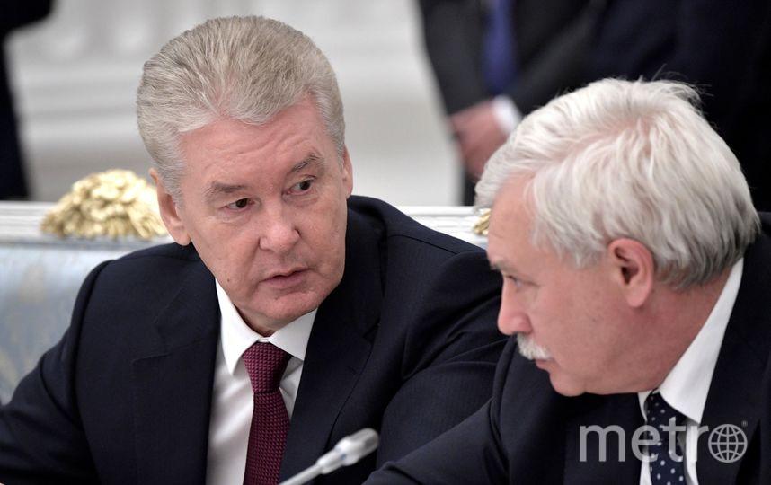 Сергей Собянин и Георгий Полтавченко. Фото kremlin.ru.