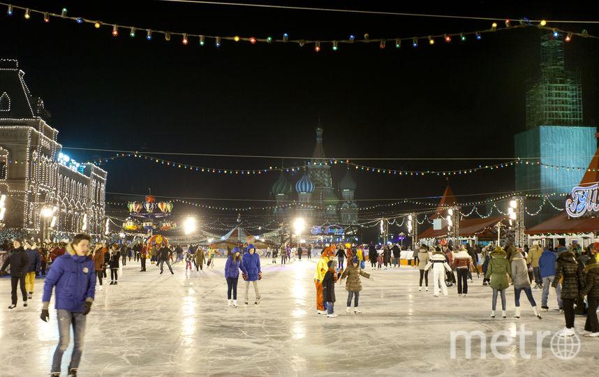 каток на Красной площади. Фото Василий Кузьмичёнок