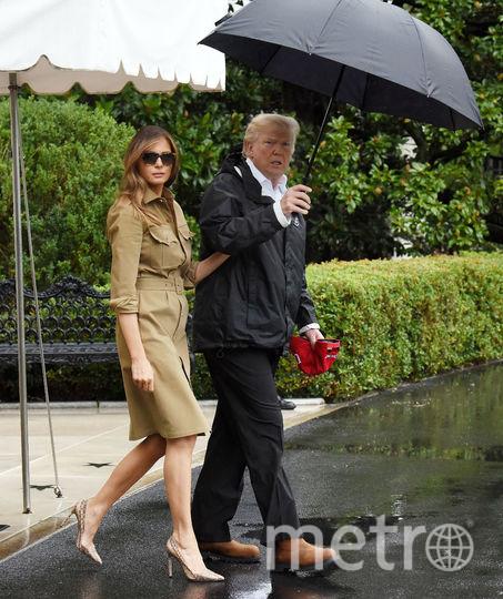 Обычно Мелания Трамп выбирает обувь на каблуках. Фото Getty