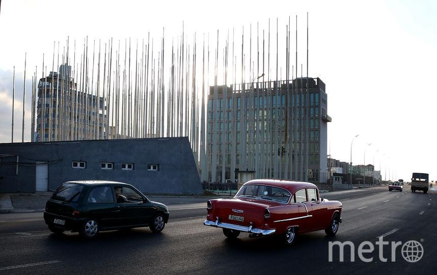 Посольство США в Гаване. Фото Getty