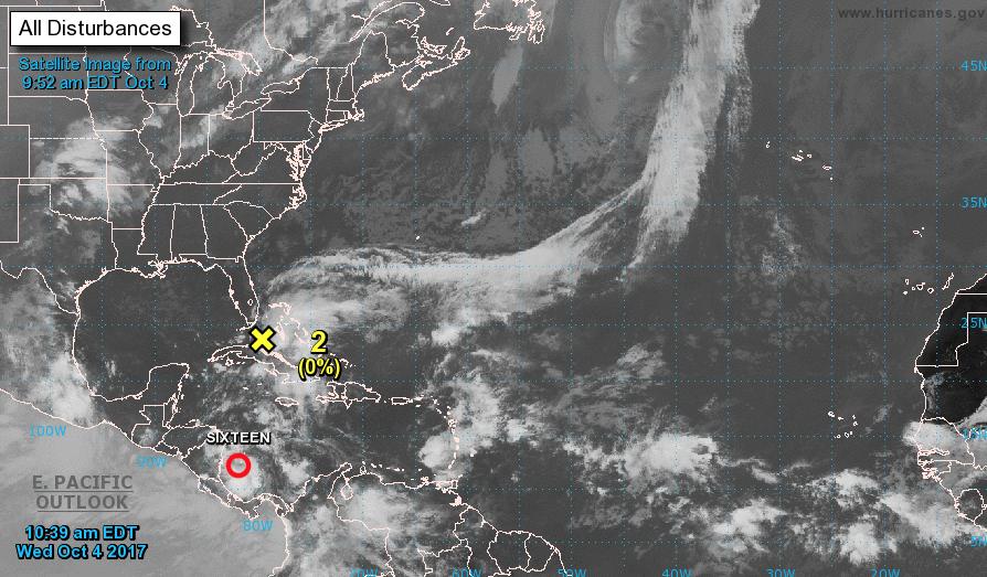 """Ураган """"Рамон"""". Фото Национальный центр США по изучению ураганов"""