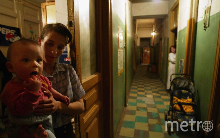В Смольном не смогли посчитать количество коммуналок в Петербурге. Фото Getty