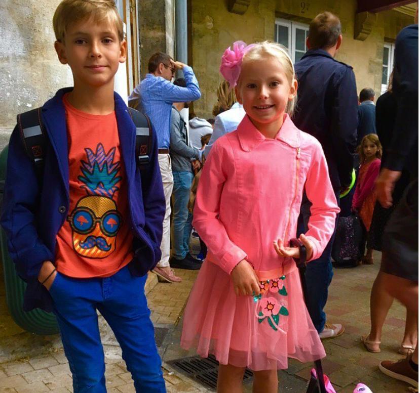 Дети Никиты Джигурды и Марины Анисиной, фотоархив.