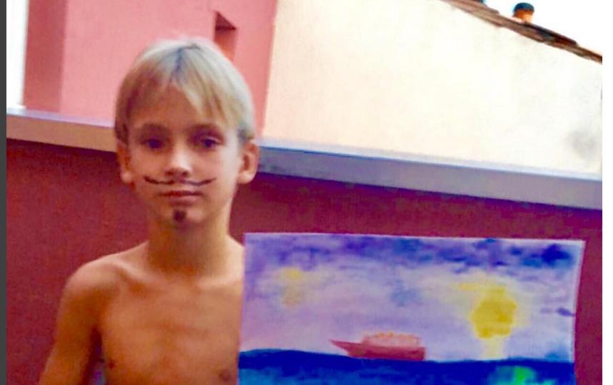 Сын Никиты Джигурды и Марины Анисиной, фотоархив.