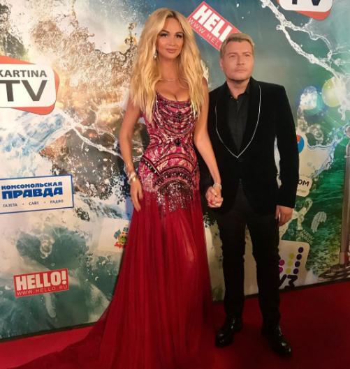 Виктория Лопырёва и Николай Басков. Фото Instagram Виктории Лопырёвой.