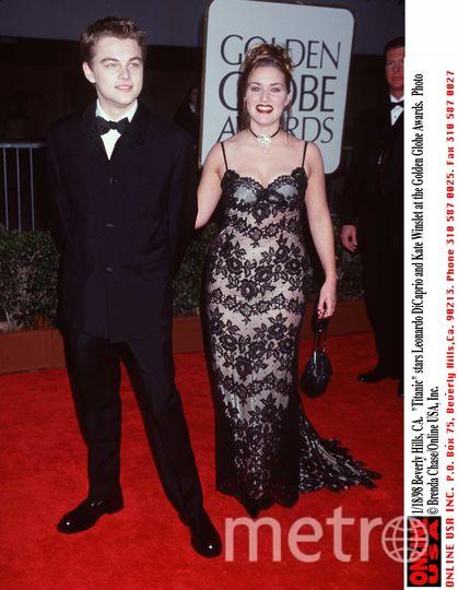 Кейт Уинслет и Леонардо Ди Каприо. Фото Getty