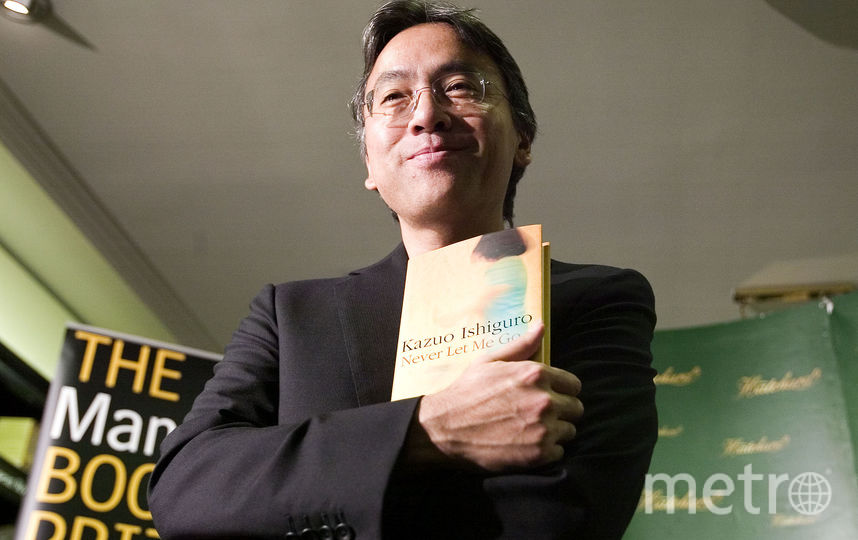 Кадзуо Исигуро. Фото AFP