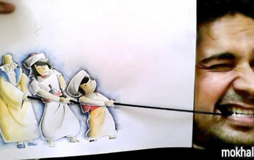 Скетчи уроженца Ирака. Фото Mokhallad Habib