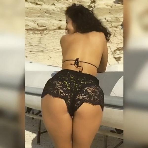 Эротическое видео Насти Каменских набрало миллион просмотров в Сети. Фото Скриншот Instagram: kamenskux