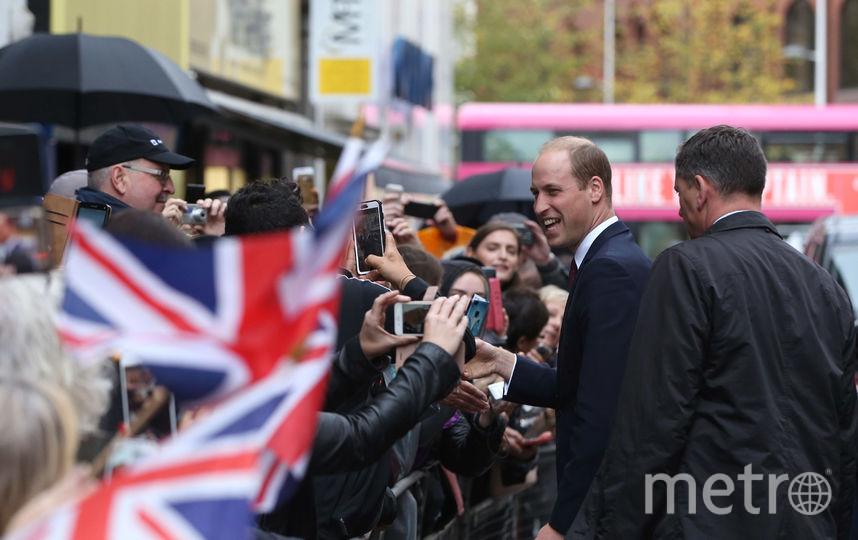 Принц Уильям неожиданно приехал в Белфаст. Фото Getty