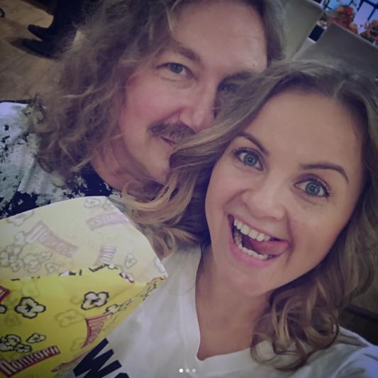 Юлия Проскурякова и Игорь Николаев. Фото Instagram Юлии Проскуряковой.