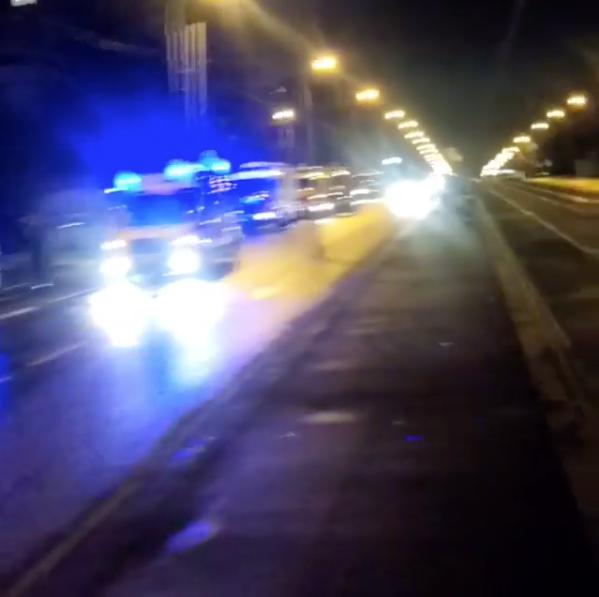 Работники МЧС спасли пятерых человек впожаре насеверо-западе столицы