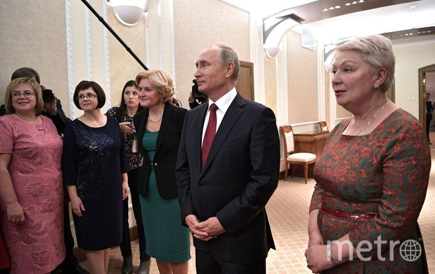 Историк из Петербурга стал учителем года. Фото http://kremlin.ru