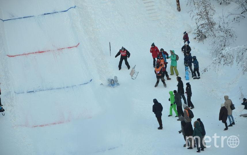 На Воробьёвых горах построят трассу для санных гонок. Фото Василий Кузьмичёнок