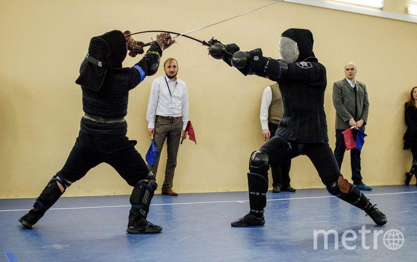 Турнир по фехтованию на длинных мечах. Фото предоставлено организаторами.
