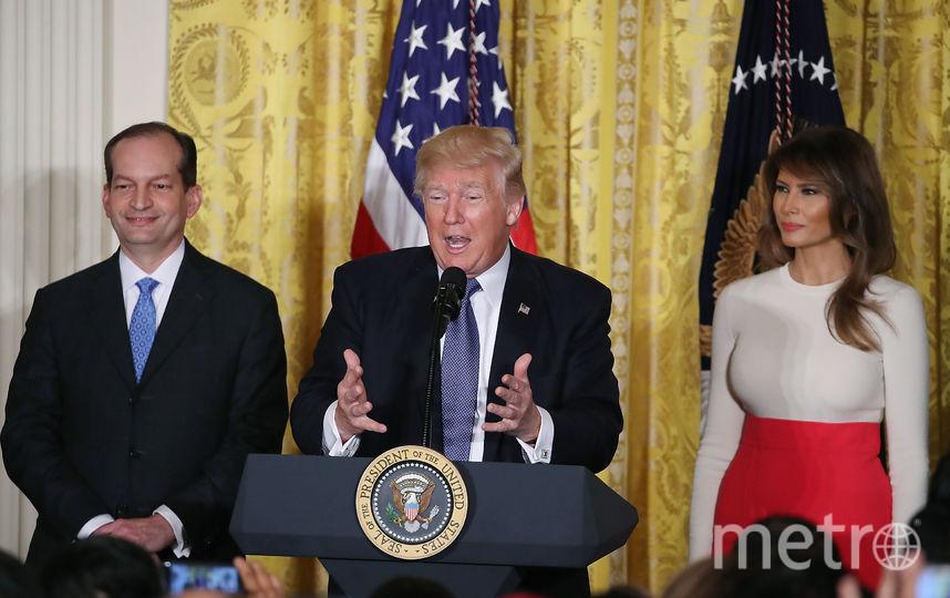Появились фото нового откровенного наряда Меланьи Трамп— Показала всё