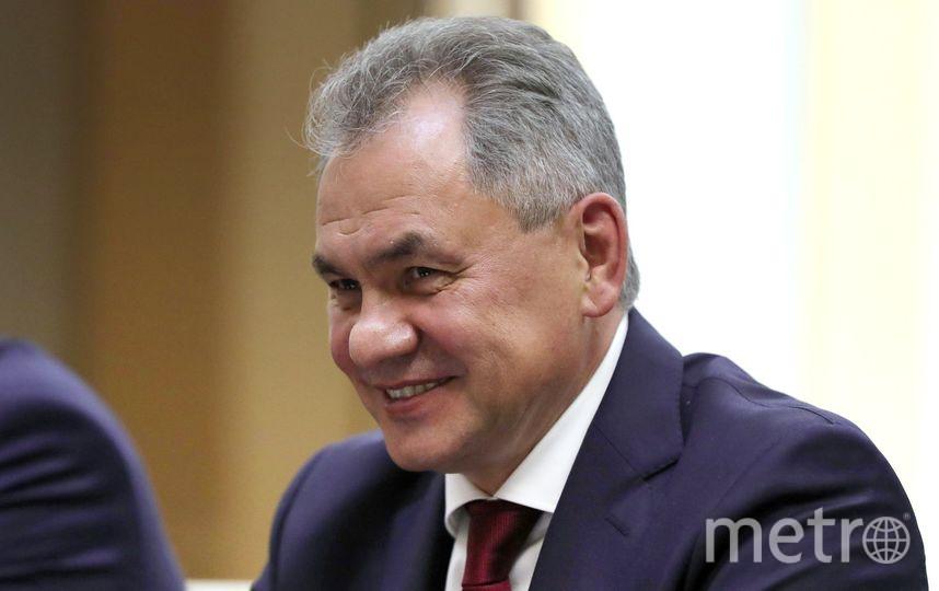 Министр обороны Сергей Шойгу. Фото kremlin.ru