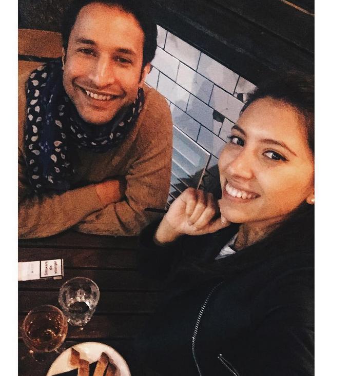 Инга Меладзе и Нури Вергезе - фотоархив.