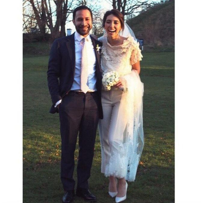 Свадьба Инги Меладзе и Нури Вергезе в январе 2017 - фотоархив.