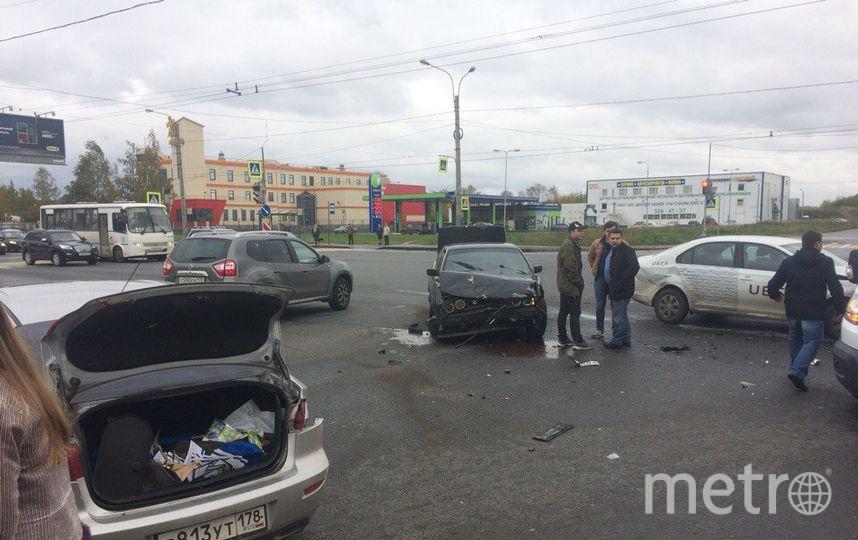 В Петербурге в тройном ДТП пострадал 5-месячный младенец.