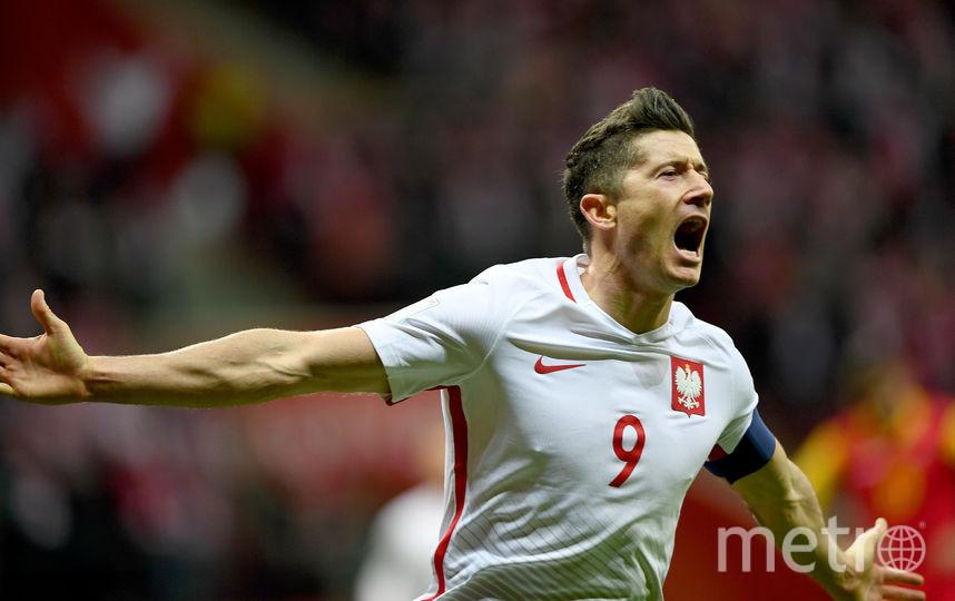 Польская команда одержала победу над сборной Черногории. Фото AFP