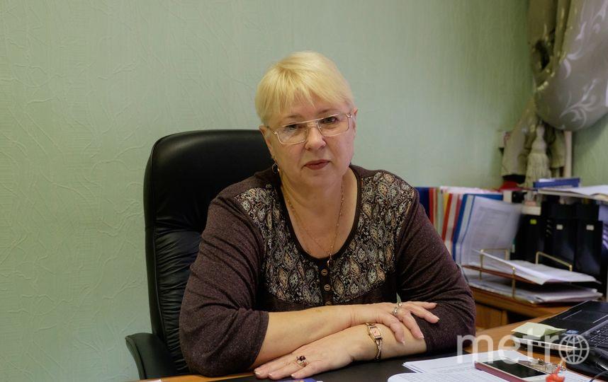 Директор лицей № 281 Елена Чернигова. Фото Алена Бобрович.