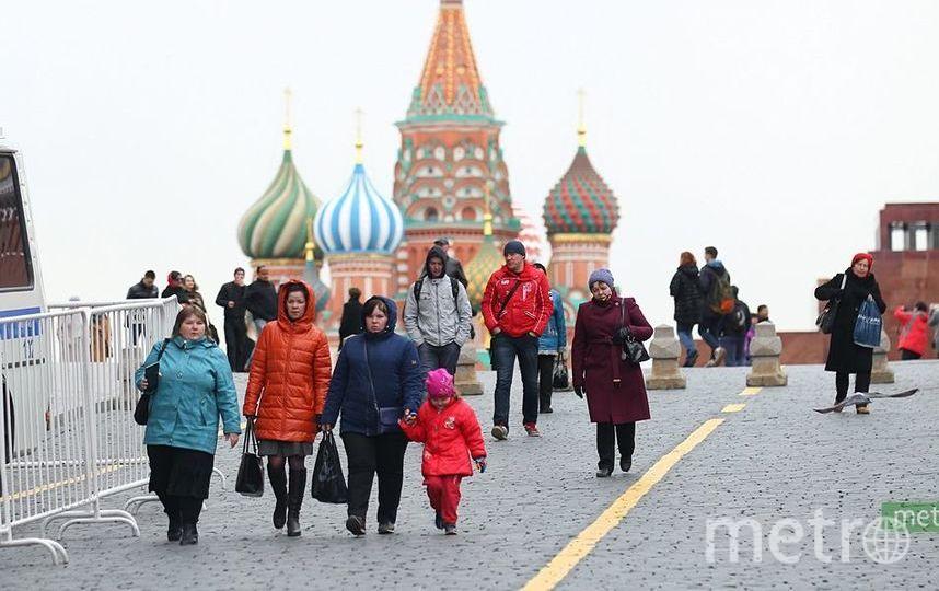 В Москве со вторника начнётся похолодание. Фото Василий Кузьмичёнок