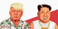 Дональд Трамп и Ким Чен Ын столкнулись на поле моды