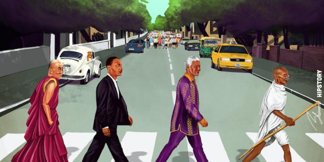 """Обложка """"Abbey Road""""."""