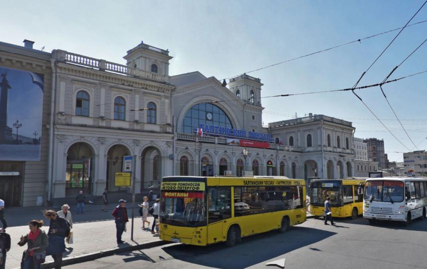 Балтийский вокзал. Фото Яндекс.Панорамы
