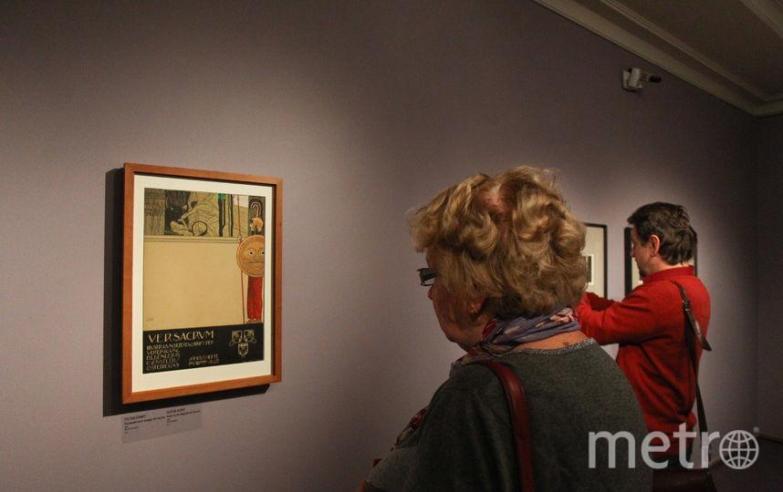 """Работы художников вывешены вперемешку: в первых залах больше Климта, в последних – Шиле. Фото Василий Кузьмичёнок, """"Metro"""""""