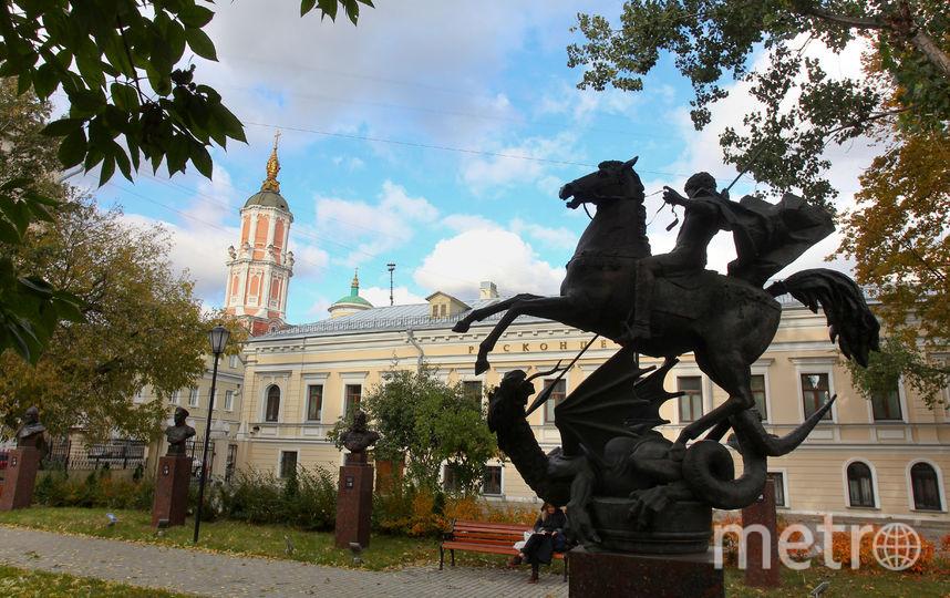Сквер Полководцев. Фото Василий Кузьмичёнок