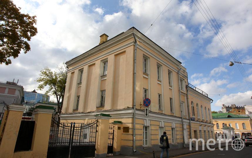 Посольство Армении. Фото Василий Кузьмичёнок