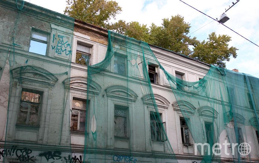 Бывшая архитектурная школа Матвея Казакова. Фото Василий Кузьмичёнок