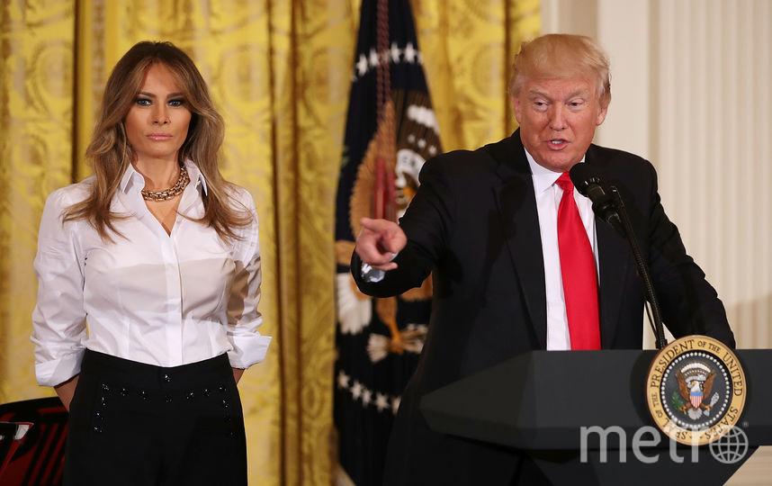 Первая леди США - Мелания Трамп. Фото Getty