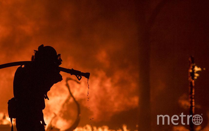 Пожары в Калифорнии. Фото AFP